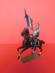 CBG-MIGNOT-SECOND-EMPIRE-TRES-BEAU-CUIRASSIER-A-CHEVAL