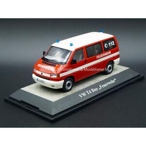 Vw Volkswagen T4 Minibus Pompiers 112 Limited 500pcs 1:43 Premium Classixxs