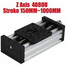 3d Printer Linear Sliding Table Z Axis Lead Screw T8 C Beam Cnc 250mm 1000mm Diy
