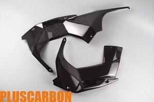 Dash Panels Kawasaki Ninja H2 2015+ Twill Carbon Fiber Dash Panels Glossy