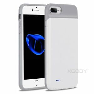 new concept c1ed6 5c8f6 Details about Backup Battery Charger Power Bank Case Charging Cover For  iPhone 8 7 6s 6 Plus