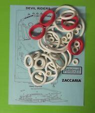 1983 Zaccaria Devil Riders Pinball Rubber Ring Kit