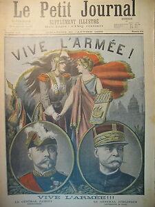 ARMeE-ARRESTATION-LT-COLONEL-PICQUART-ANARCHISTE-ETIEVANT-LE-PETIT-JOURNAL-1898