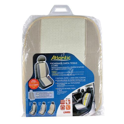 Beige Atlantic schienale in carta tessile e lino