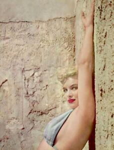 Marilyn-Monroe-1953-Vintage-Pinup-Litho-Anthony-Beauchamp-Promo-Photo-COA