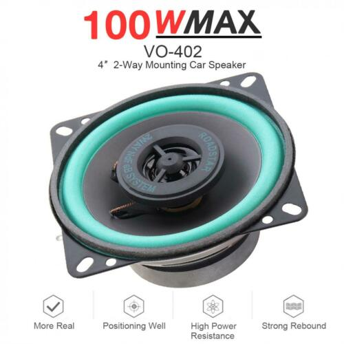 4 Inch 100W Car HiFi Coaxial Door Auto Audio Music Stereo  Frequency Speakers