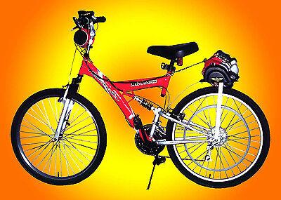 Honda GX35 Belt Drive Gas Motorized Bicycle Engine Kit Bike Motor Scooter, NIB