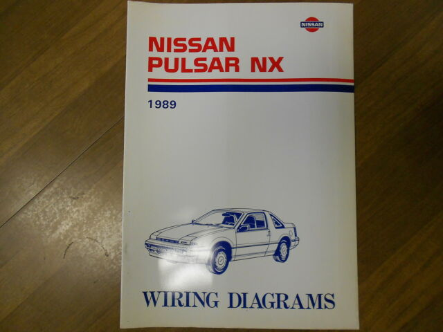 1989 Nissan Pulsar Nx Wiring Diagram Service Repair Shop