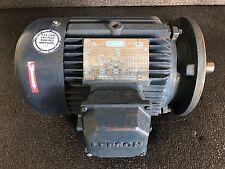 LEESON Electric Motor, H.P 5, Rpm 3510, Volt 208-230/460.