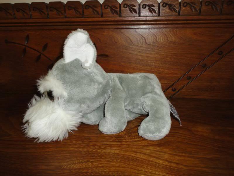 Russ ARLEY Yorkshire Terrier Pop Eyed Dog Plush