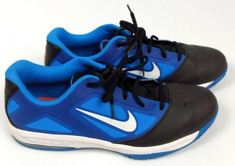 Nike Air Max Actualizer low azul negro basketball zapatos hombres Talla 13
