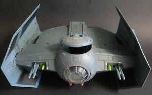 Star Wars Darth Vader Tie Fighter Vehicle Action Figure Ship 2003 Vintage Hasbro