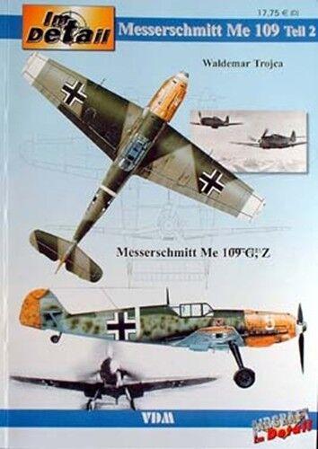 NEU * Waldemar Trojca Messerschmitt Me Bf 109 G /& Z Band 2 Flugzeug-Modellbau