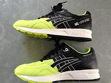 Asics Gel-Lyte Speed 9 Safety Yellow/Black Neon 50/50 Running Sneaker H5V1Y