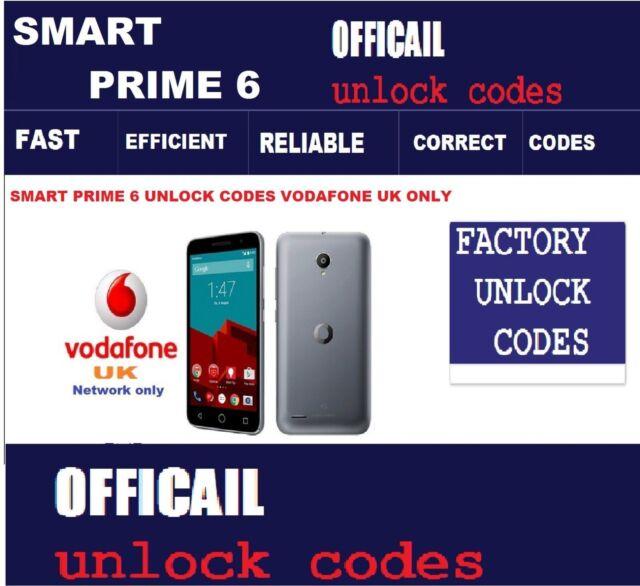 free vodafone unlock codes online