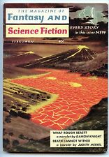 Fantasy and Science Fiction Vol 16, No 2. December 1959 Approx grading : Fine