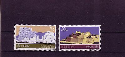 Malta Michelnummer 680-681 Postfrisch Von Der Konsumierenden öFfentlichkeit Hoch Gelobt Und GeschäTzt Zu Werden intern: Land