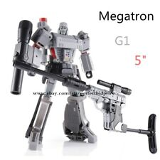 """KBB Transformers Megatron Black Tank LG13 11/"""" Action Figure KId Collect Gift Toy"""