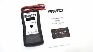 SMD-AMM-1-Steve-Meade-Audio-Multimeter-AMM1-Car-Audio-Amp-Clamp