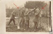19822/ Originalfoto 9x13cm, Fla-MG, Luftabwehr, Entfernungsmesser, ca. 1917