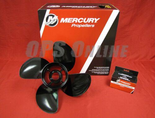 Mercury New OEM Spitfire 4 Blade AL Prop 14 x 23 Propeller 48-8M0084497