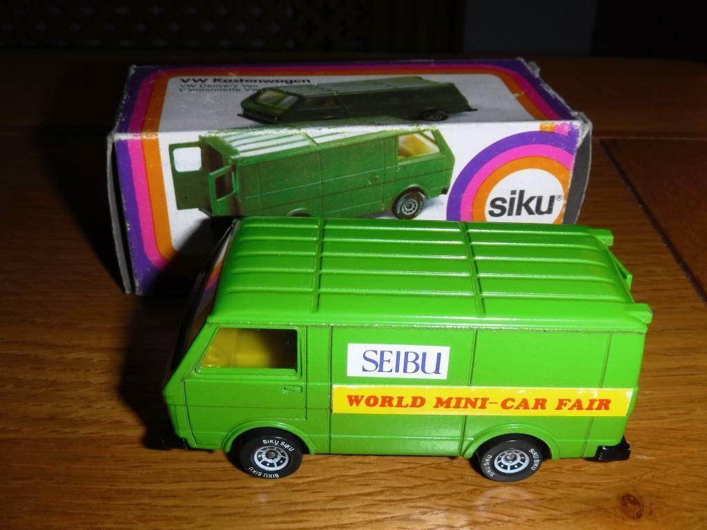 RARE SIKU promtional VW Van Nº 1334 Seibu department stores Japon En parfait état, dans sa boîte