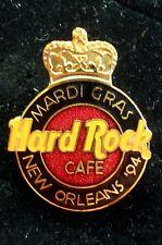 HRC Hard Rock Cafe New Orleans Mardi Gras 1994 Logo LE