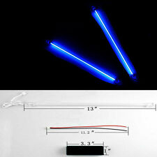 "2 X 12"" Car Auto Blue Underbody Neon Kit Lights CCFL Cold Cathode Tube"