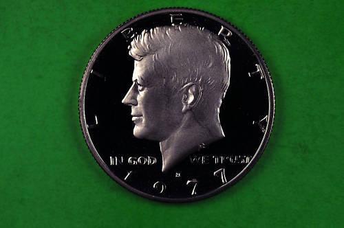 1977-S Kennedy Half Dollar Deep Cameo US GEM Proof Coin