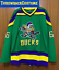 thumbnail 8 - The Mighty Ducks Movie Jersey #96 Conway #99Banks #33 Goldberg #66 Hockey Jersey