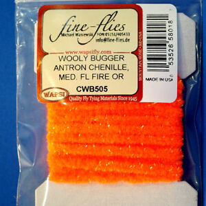 1 x Fritz TINSEL CHENILLE choice of colours Gilchrist Flies