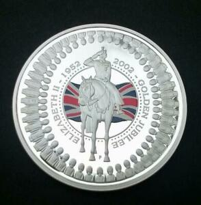 2002-Australia-Golden-Jubilee-1-Crown-Coin-Silver-Proof-With-Royal-Mint-COA