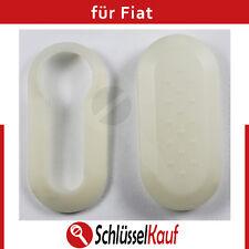 Fiat Autoschlüssel Schale Weiß Punto 500 Bravo Dablo Cover White Schutz Hülle