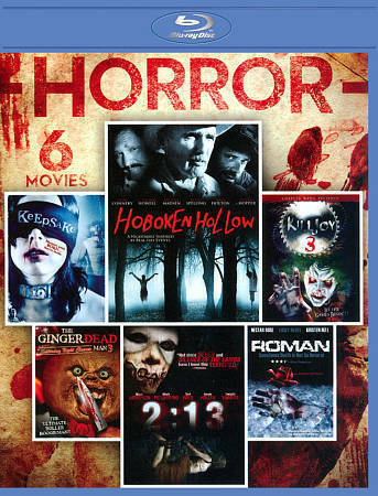 6-MOVIE Horror Collection Blu-Ray On Blu-Ray Wk - $10.99