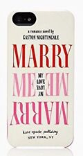 Kate Spade NY Wedding Belles Marry Me White/Pink iPhone 5/5S Case Cover, NIB