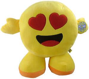 13 Pouces Icônes Jouet Doux-in Love Smiley-internet/virale Character Toys (es145)-afficher Le Titre D'origine Assurer IndéFiniment Une Apparence Nouvelle