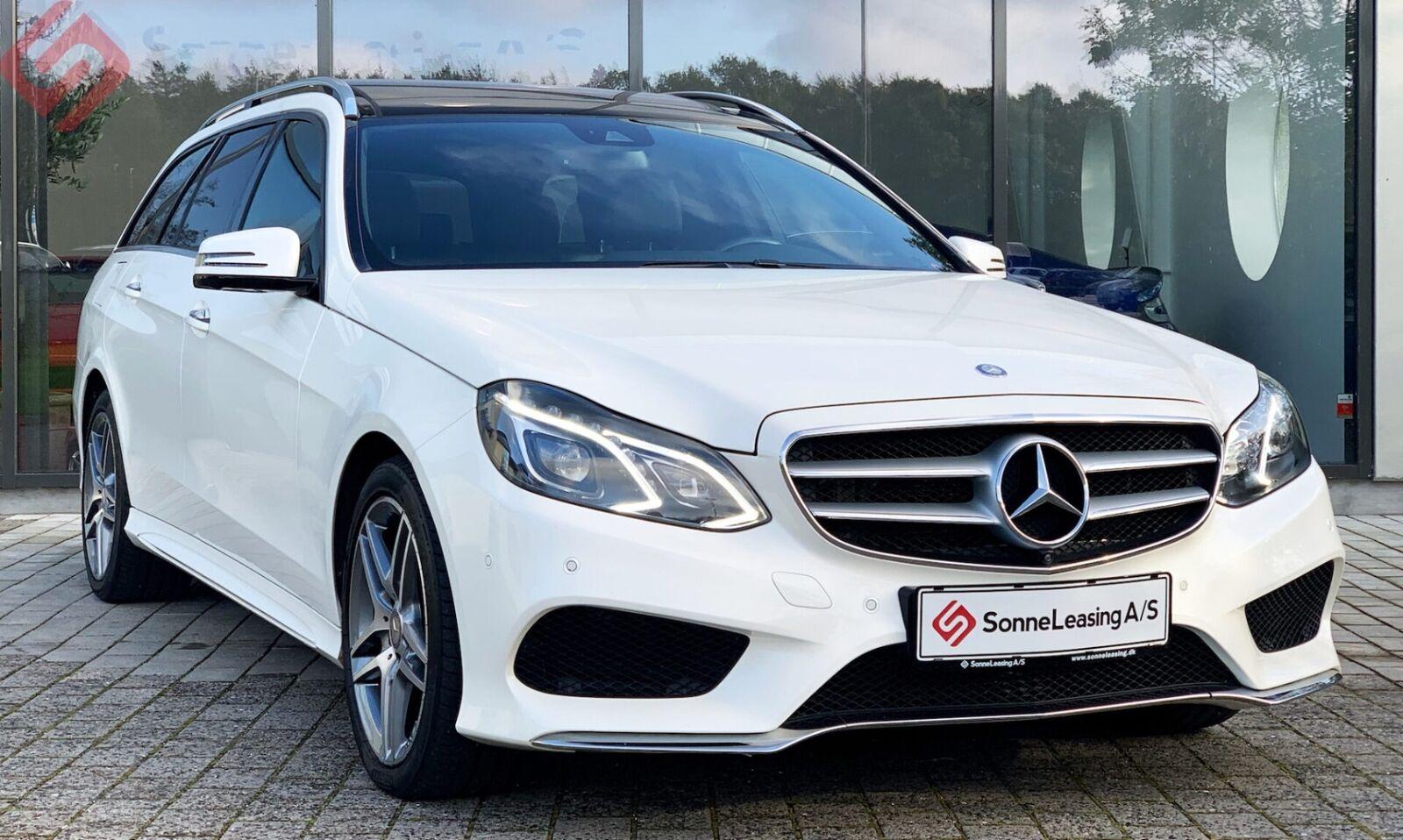 Mercedes E350 3,0 BlueTEC AMG Line stc. aut. 4-M 5d - 3.036 kr.