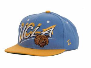 buy popular 12f74 e1034 Image is loading UCLA-Bruins-Zephyr-NCAA-Logo-Shadow-Script-Adjustable-