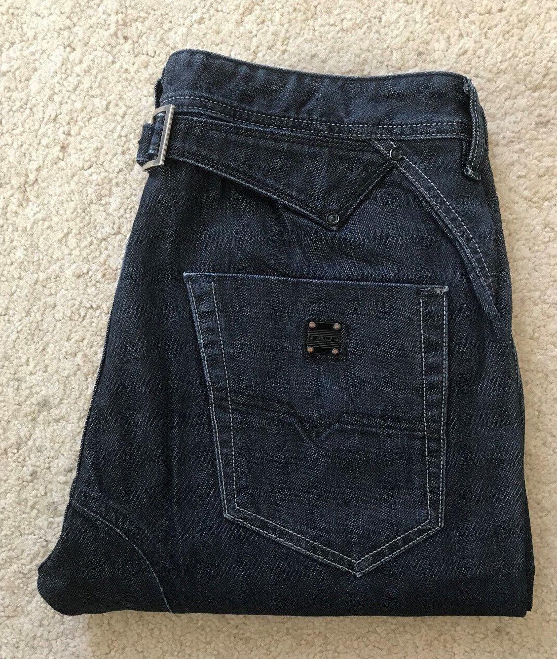 Mens Diesel Pheyo 0088Z indigo Blau comfort fit straight denim jeans W 30 L 30    Ausgang    Haltbar    Zu einem erschwinglichen Preis