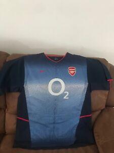 buy popular 9651f 45f74 Image is loading Nike-Vintage-Arsenal-Fc-Gunners-Premier-League-Soccer-