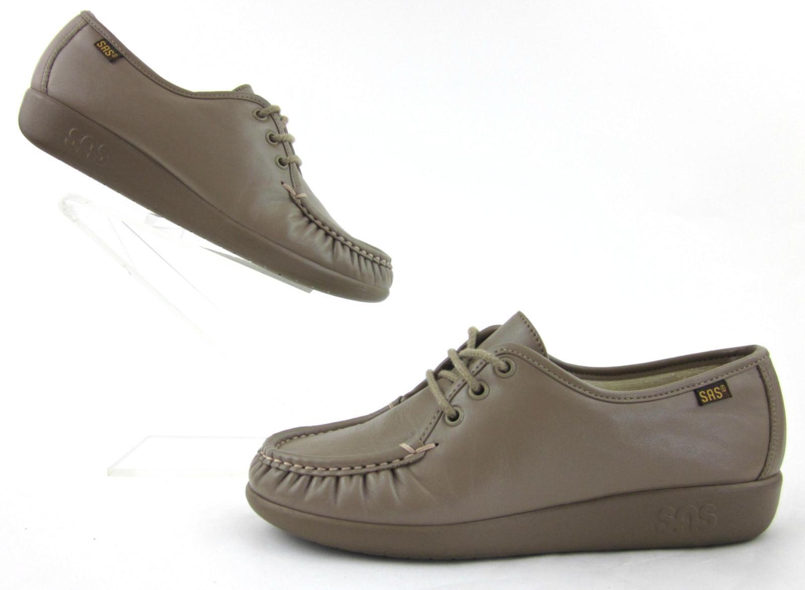 Servicio Aéreo Especial  siesta  Con Cordones Comodidad Zapatos Moca Cuero Estados Unidos 6.5M usado una vez