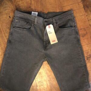Levi-039-s-512-Jeans-Slim-Taper-Stretch-Black-288330108-Mens-32x32