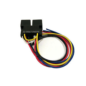 v a pin automotive relays w dual socket wire wiring image is loading 2 12v 30 40a 5 pin automotive relays