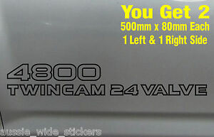 Nissan-Patrol-4x4-GU-4800-Custom-Doors-sticker-x2