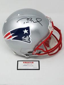 TOM-BRADY-Autographed-Authentic-New-England-Patriots-Proline-Helmet-TRISTAR