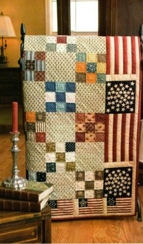 Salute To Our Veterans Quilt Pattern Pieced JR