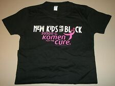 NEW KIDS on the BLOCK Susan G. Komen For the Cure NKOTB Breast Cancer Shirt Jr S