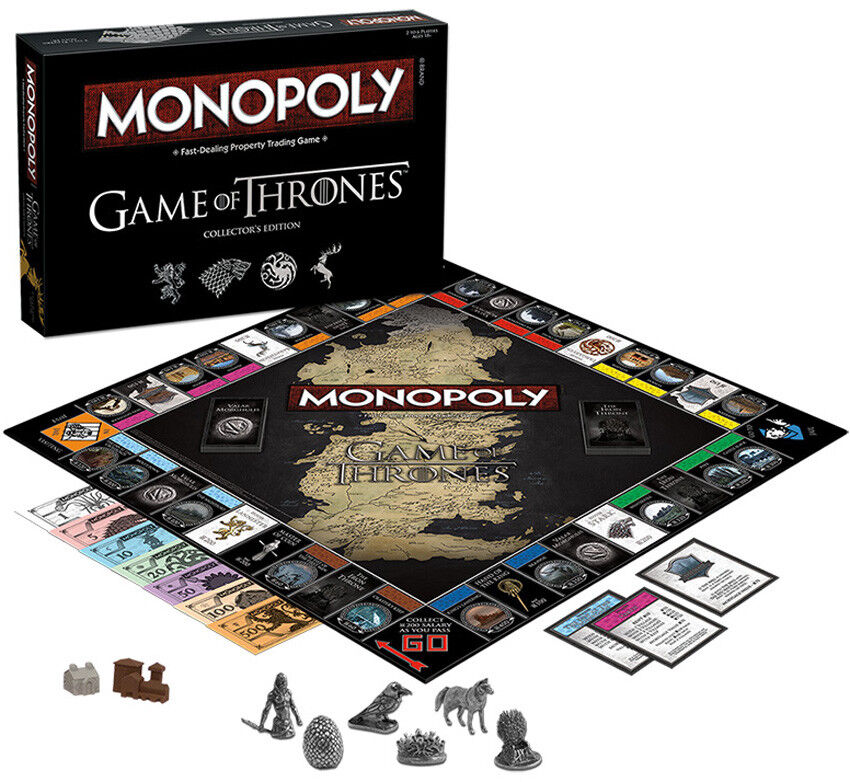 USAopoly Fight To Win The Game Of Thrones Collector'S Edition Edition Edition Board Game NEW 0c0e1f
