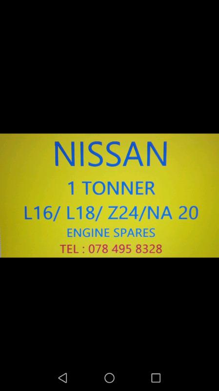 Nissan 1 tonner engine spares