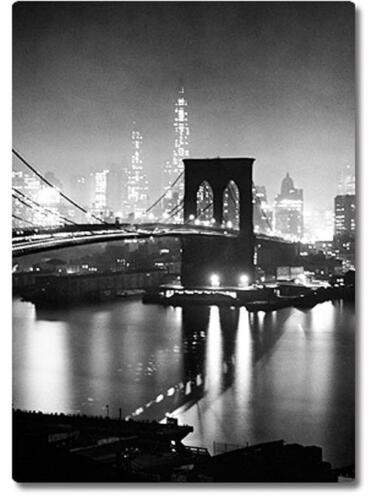 Magnet Schild Pin Brooklyn Bridge originalverpackt 8 x 6 cm NEU u